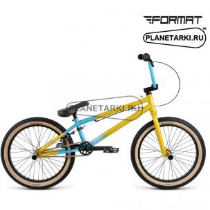 """Велосипед Format 3212 20"""" 2016 голубой/горчичный"""
