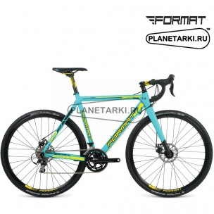 """Велосипед Format 2312 700C(28"""") 2016 морская волна/черный"""