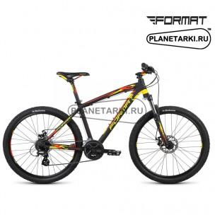 """Велосипед Format 1414 26"""" 2015 черный/желтый"""