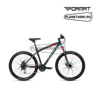 """Велосипед Format 1412 26"""" 2015 черный/синий"""