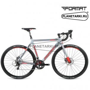 """Велосипед Format 2313 28""""(700С) 2016 серый/красный"""
