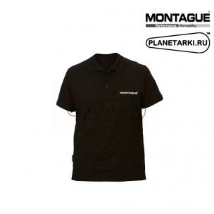 Поло Montague Logo черное
