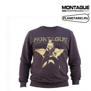 Свитшот Montague Starbike, темно-серый.