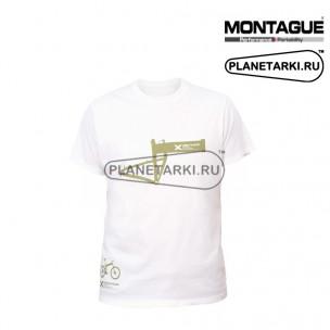 Футболка Montague Frame (белый)