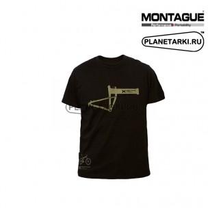 Футболка Montague Frame черная