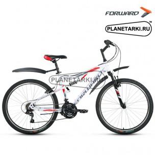 """Велосипед Forward Benfica 1.0 26"""" 2016 белый"""