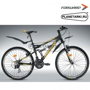 """Велосипед Forward Flare 1.0 26"""" 2014 черный"""