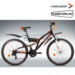 """Велосипед Forward Raptor 1.0 26"""" 2014 черный"""