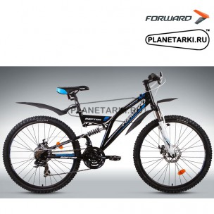 """Велосипед Forward Raptor 2.0 disc 26"""" 2014 черный"""