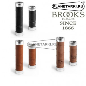 Грипсы Brooks Slender Leather (130 x 100 Mm) Gripshift