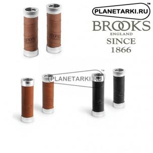 Грипсы Brooks Slender Leather (100 x 100 Mm) Gripshift