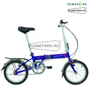 Велосипед Dahon Pop Uno 2016, синий