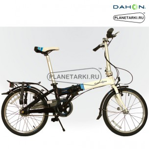 Dahon Vitesse D7Hg (I7) 2015 Бело-черный