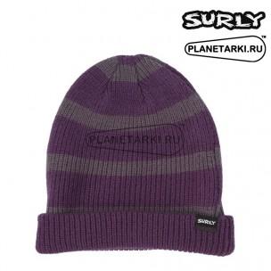 Шапка Surly Merino Wool Beanie grey/purple