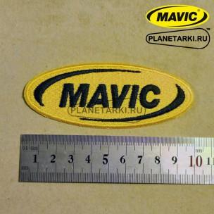 Нашивка Mavic, yellow/black