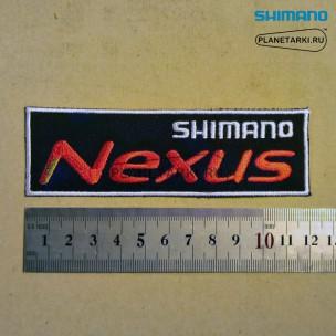 Нашивка Shimano Nexus, black/white/red