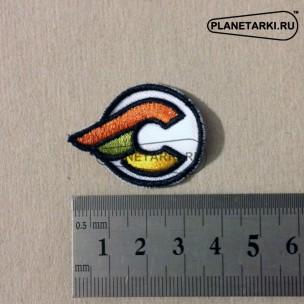 Нашивка CINELLI логотип, white