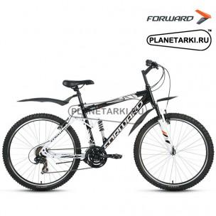 """Велосипед Forward Terra 1.0 26"""" 2016 черный/белый"""