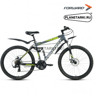 """Велосипед Forward Terra 2.0 disc 26"""" 2016 белый/черный"""