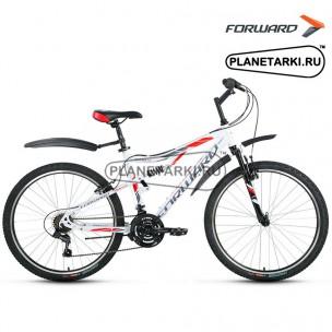 """Велосипед Forward Benfica 1.0 26"""" 2017 белый"""