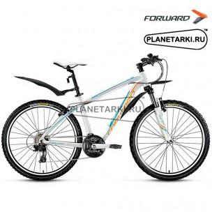 """Велосипед Forward Agris Lady 1.0 26"""" 2016 белый"""