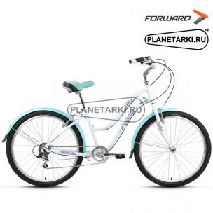 "Велосипед Forward Evia Air 1.0 26"" 2017 белый"