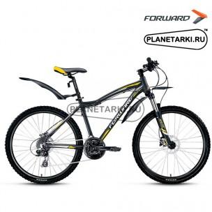 """Велосипед Forward Hesper 3.0 disc 26"""" 2016 черный"""