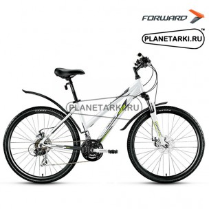 "Велосипед Forward Jade 2.0 disc 26"" 2016 белый/серый"