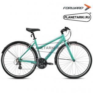 """Велосипед Forward Corsica 1.0 28"""" 2016 зелёный"""