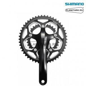 Система Shimano 105 FC-RS500 175 mm, BCD 110, черный, EFCRS500EX26L