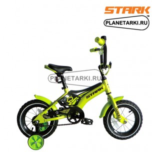 Велосипед Stark Tanuki 12 Boy 2017 зелено-черный