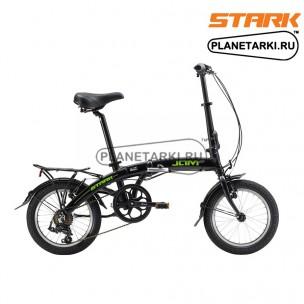 Велосипед Stark Jam 16.1 V 2017 черно-зеленый