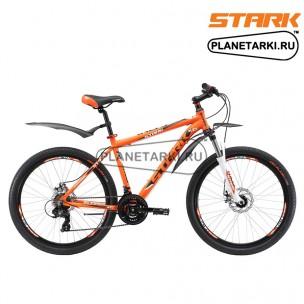 Велосипед Stark Indy 26.2 D 2017 оранжево-черный