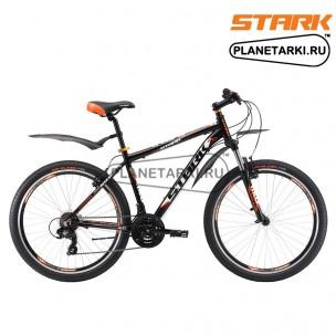 Велосипед Stark Indy 26.2 V 2017 черно-оранжевый