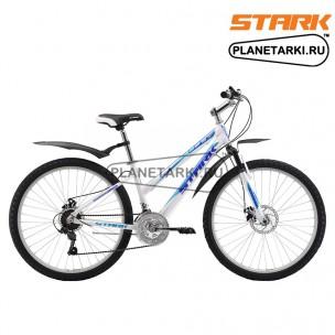 Велосипед Stark Luna 26.1 D 2017 бело-синий