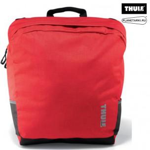 сумка велосипедная thule tote, темно-красный