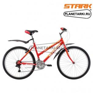 Велосипед Stark Luna 26.1 RV 2017 красно-желтый