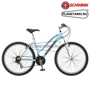 """Велосипед Schwinn High Timber Women 26"""" 2017 голубой"""