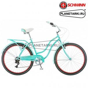 Велосипед SCHWINN Perla 7 2017 голубой