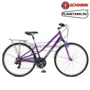 Велосипед SCHWINN Voyageur Commute Woman 2017 фиолетовый