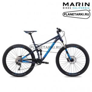 "Велосипед Marin Hawk Hill 27,5"" 2017 серый"