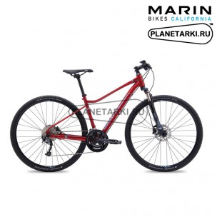 Велосипед Marin San Anselmo DS3 2017 бордовый