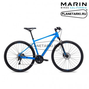 Велосипед Marin San Rafael DS4 2017 синий