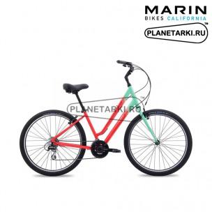 Велосипед Marin Stinson St 2017 красный/зелёный