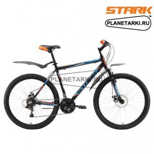 Велосипед Stark Respect 26.1 D 2017 черно-оранжевый
