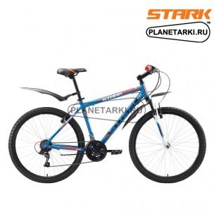 Велосипед Stark Outpost Disc 2016 сине-оранжевый