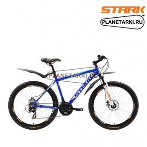 Велосипед Stark Indy Disc 2016 сине-оранжевый