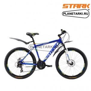 Велосипед Stark Hunter Disc 2016 сине-зеленый