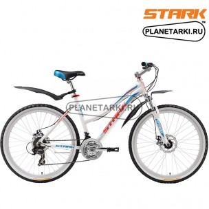 Велосипед Stark Indy Lady Disc 2016 бело-голубой