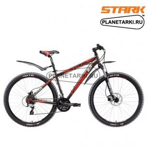 Велосипед Stark Funriser 29.4 HD 2017 серо-красный